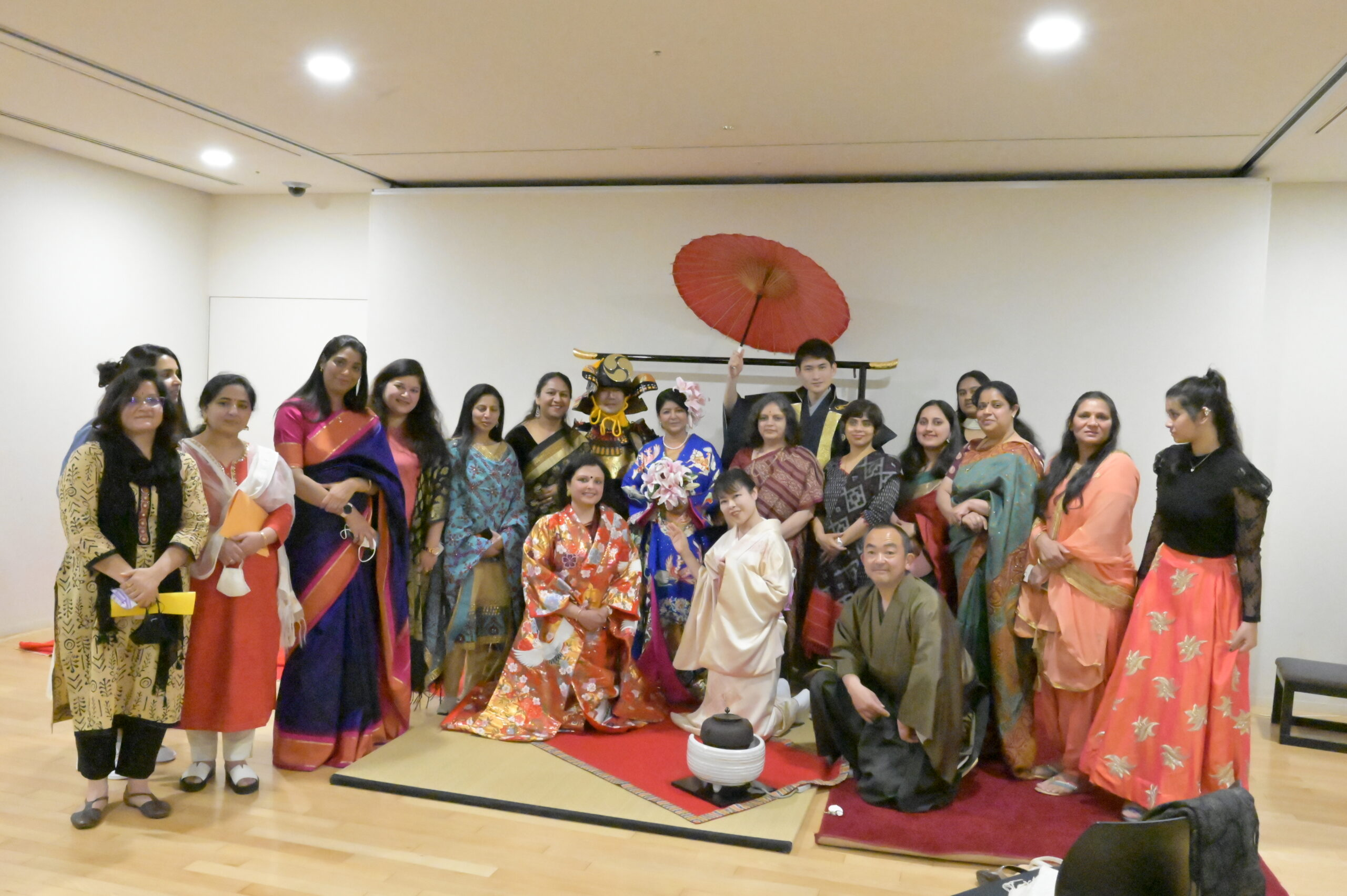 Tea Ceremony at Indian Embassy